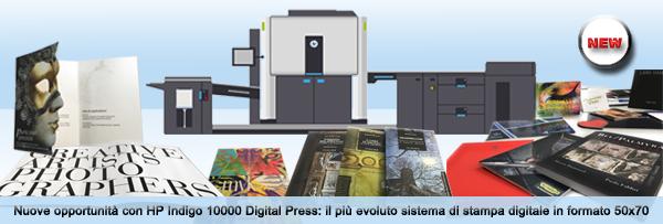 Centro Stampa Digitalprint - Stampa digitale HP Indigo, stampa